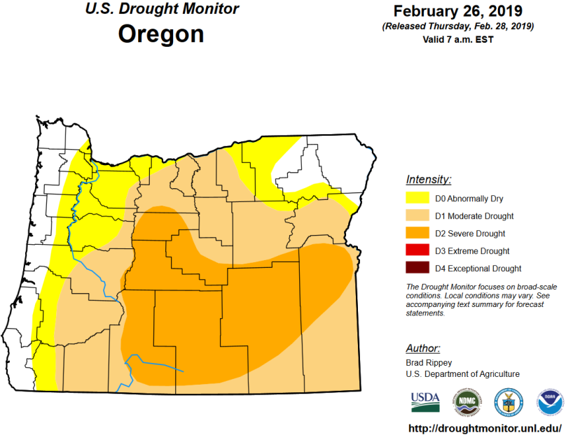 2.26.19 Drought Monitor