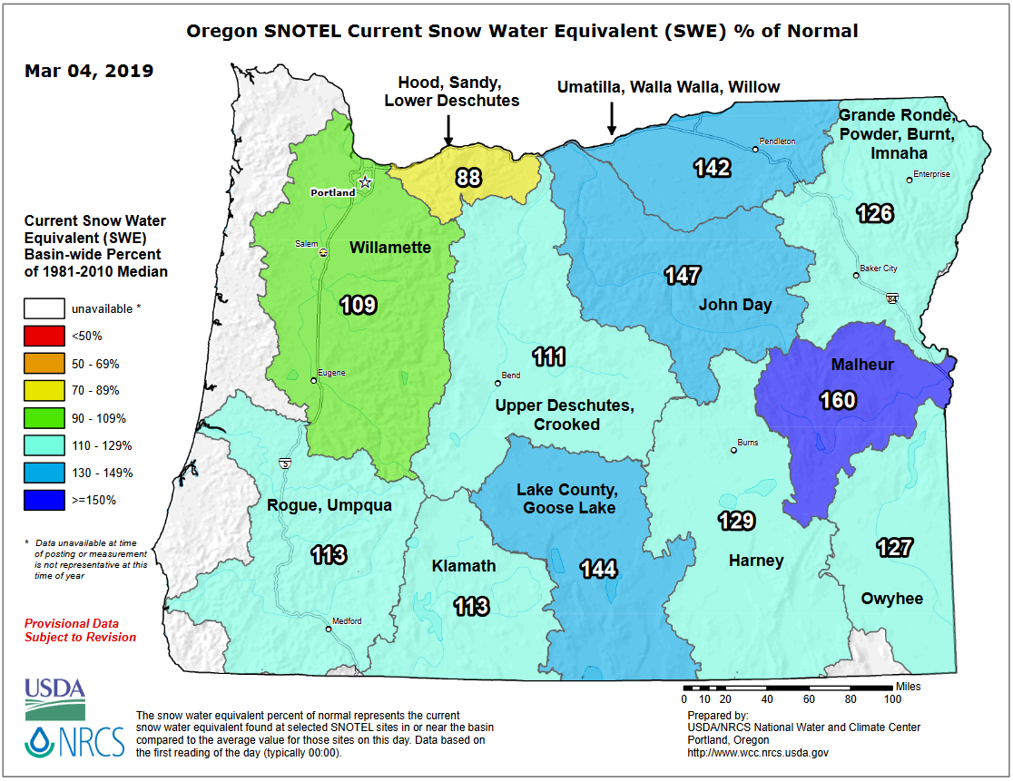 3.4.19 Oregon Snow Pack